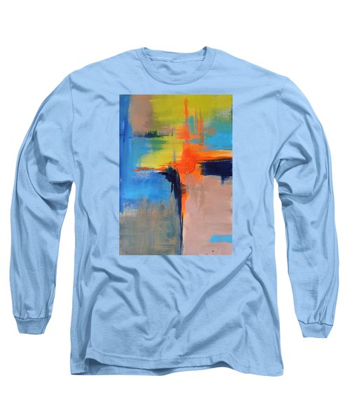Excitement Long Sleeve T-Shirt by Becky Chappell
