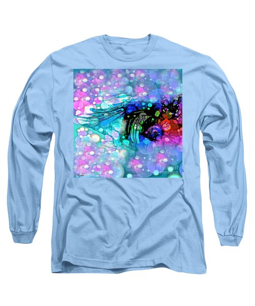 Eye See Long Sleeve T-Shirt by Saundra Myles