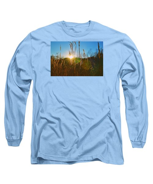 Long Sleeve T-Shirt featuring the photograph Faded Day by Nikki McInnes