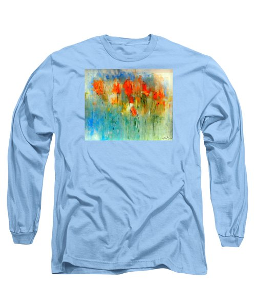 Faded Warm Autumn Wind Long Sleeve T-Shirt