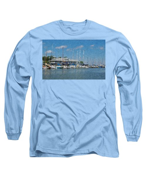 Fairhope Yacht Club Impression Long Sleeve T-Shirt