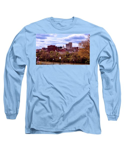 Fairmont West Virginia Long Sleeve T-Shirt by L O C