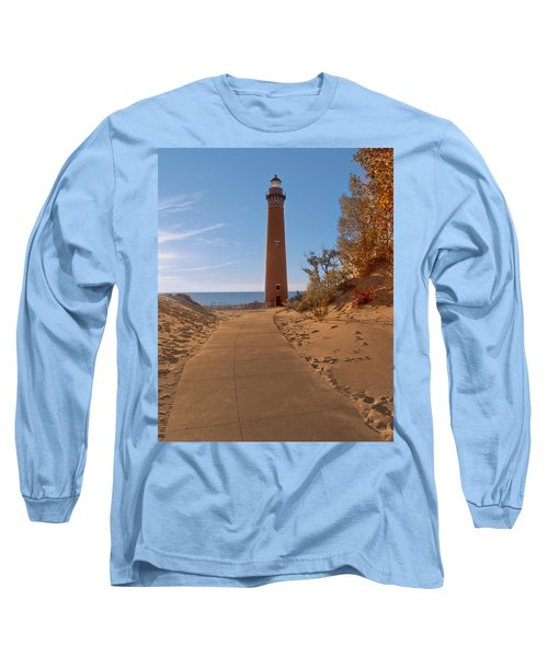 Fall At Little Point Sable Light Long Sleeve T-Shirt