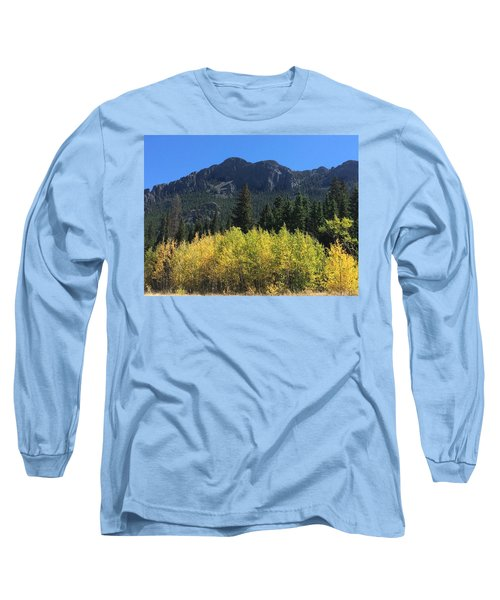 Fall At Twin Sisters Long Sleeve T-Shirt