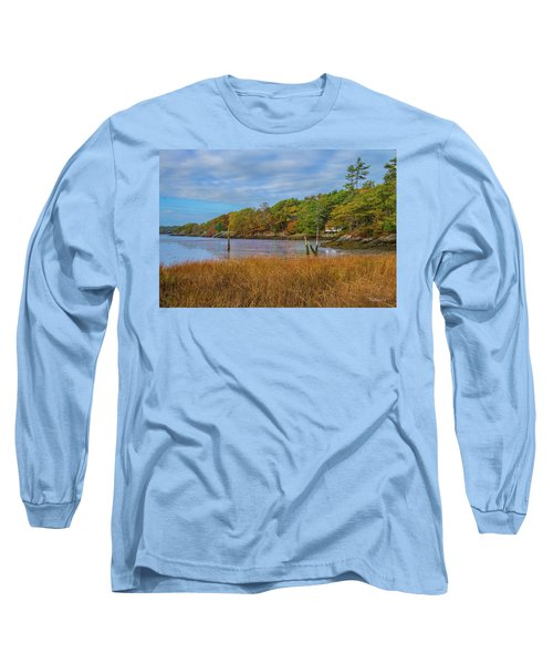 Fall Colors In Edgecomb Too Long Sleeve T-Shirt