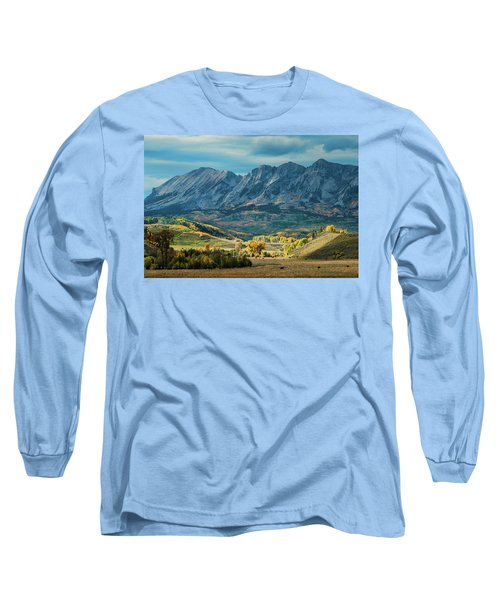 Long Sleeve T-Shirt featuring the photograph Fall In Gunnison County by Dana Sohr