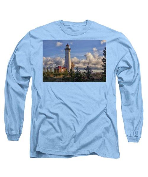 Fall Morning At Crisp Point Long Sleeve T-Shirt