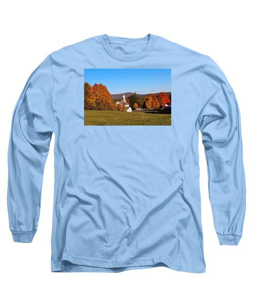 Fall Mountain View Long Sleeve T-Shirt