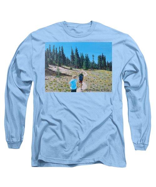 Family Hike Long Sleeve T-Shirt