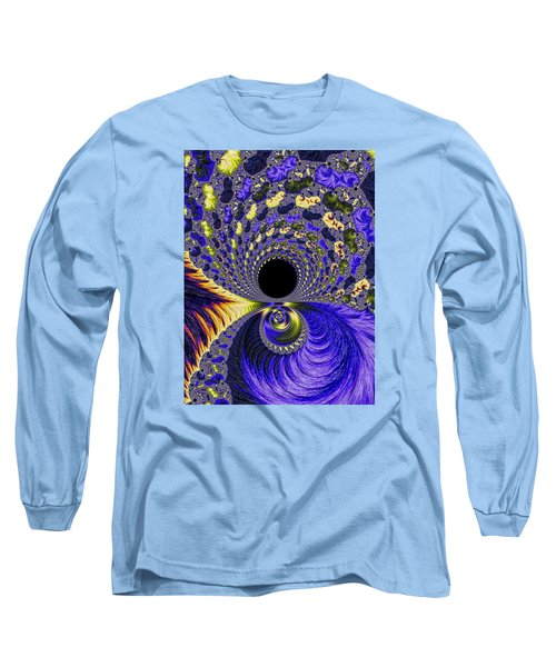 Long Sleeve T-Shirt featuring the photograph Fantastical Fractal Journey by Ronda Broatch