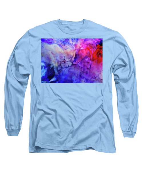Faux Chasm Long Sleeve T-Shirt