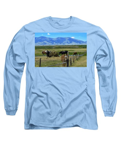 Feeding Time Long Sleeve T-Shirt