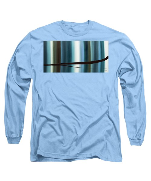 Long Sleeve T-Shirt featuring the painting Feeling Engaged by Carmen Guedez