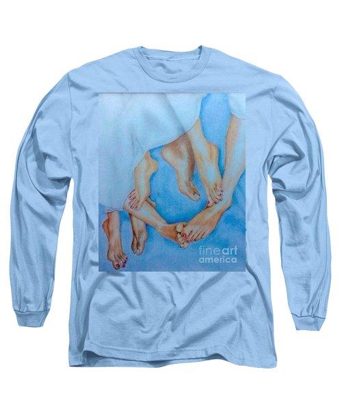 Naughty Feet Long Sleeve T-Shirt