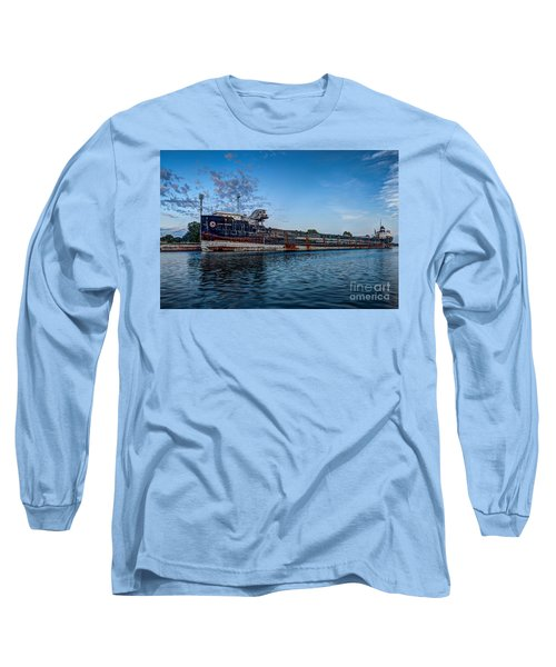 Final Mooring For The Algoma Transfer Long Sleeve T-Shirt