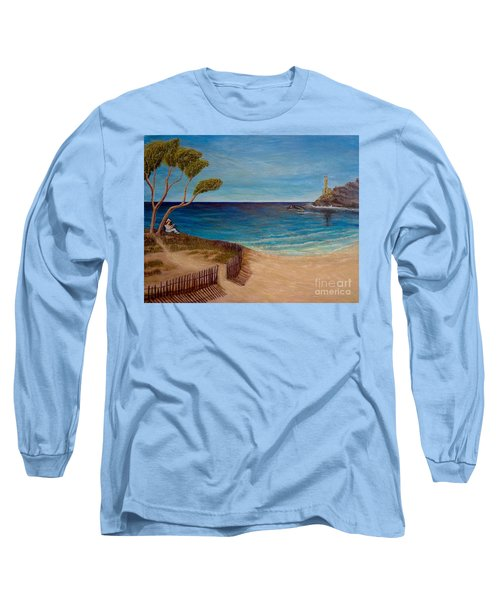 Finding My Special Place In The Summertime  Long Sleeve T-Shirt by Kimberlee Baxter