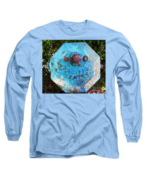 Fire Hydrant #3 Long Sleeve T-Shirt by Suzanne Lorenz