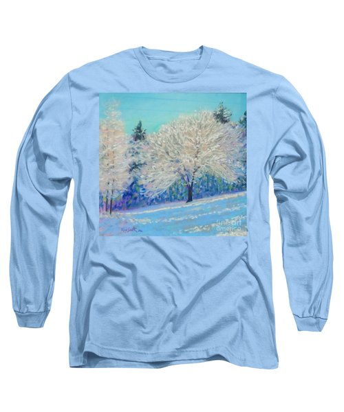 First Snowfall  Long Sleeve T-Shirt by Rae  Smith PAC
