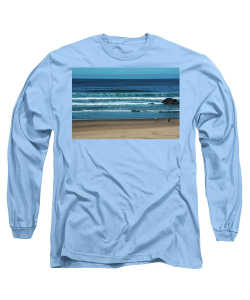 First Steps On The Sand Long Sleeve T-Shirt