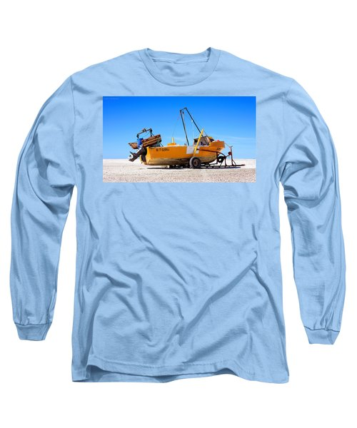 Long Sleeve T-Shirt featuring the photograph Fishing Boat by Silvia Bruno