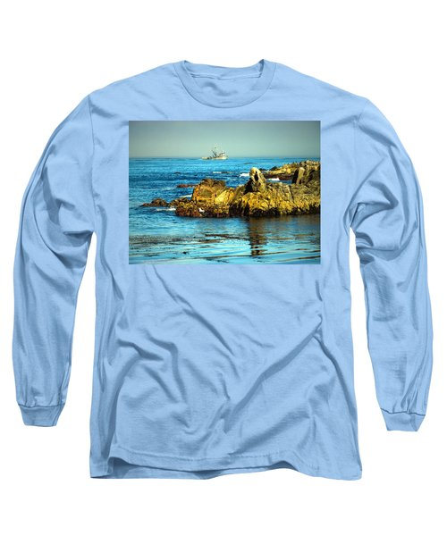 Fishing Monterey Bay Ca Long Sleeve T-Shirt