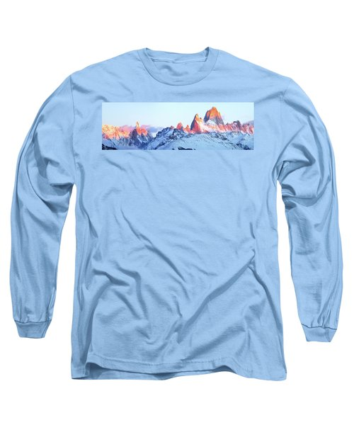 Fitz Roy Peak Long Sleeve T-Shirt by Phyllis Peterson