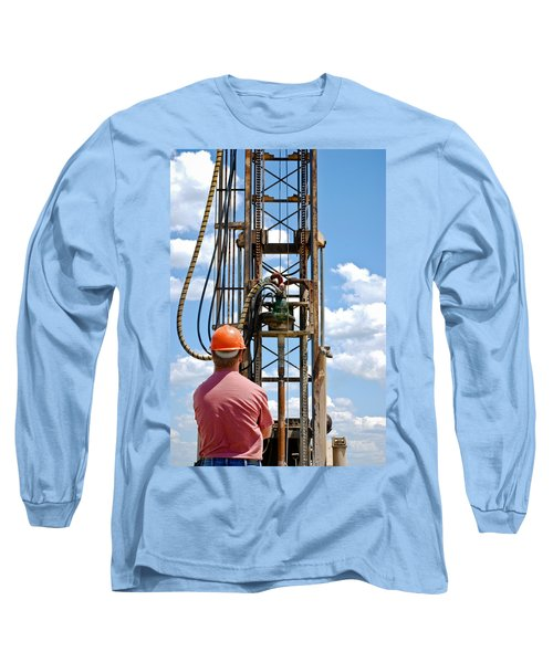 Fixing A Hole Long Sleeve T-Shirt