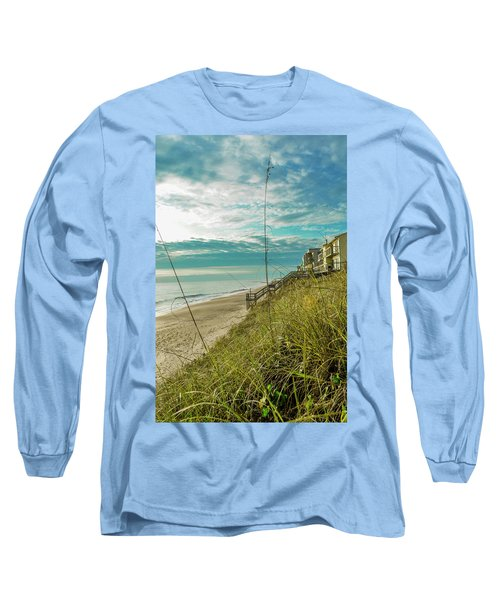 St Aug Beach Long Sleeve T-Shirt