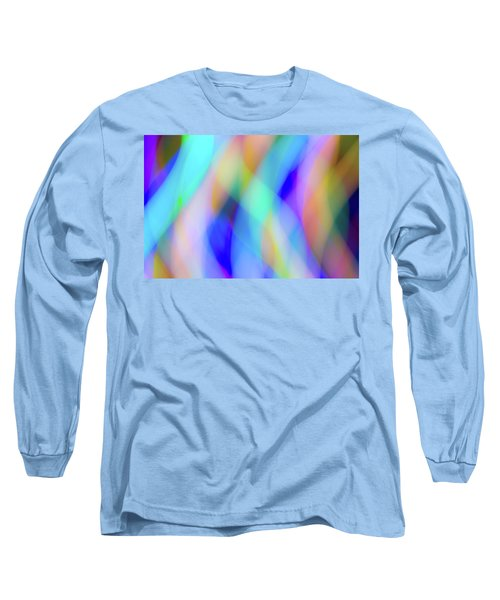 Flames Of Iridescence Long Sleeve T-Shirt