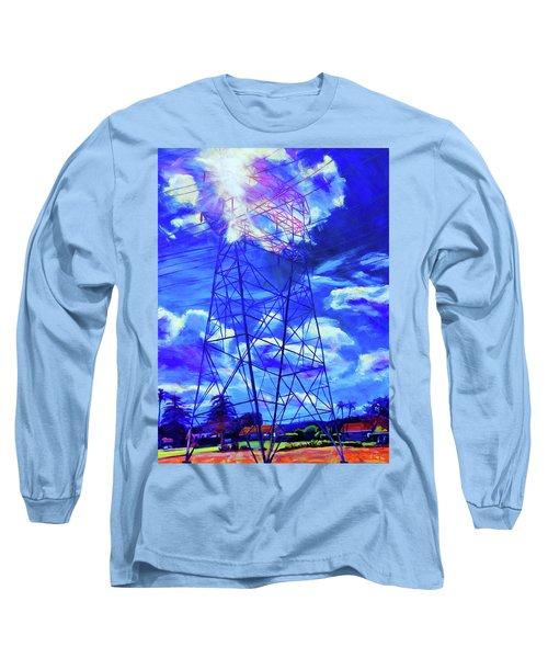 Flash Long Sleeve T-Shirt by Bonnie Lambert