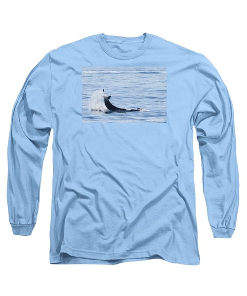 Flipping Off Long Sleeve T-Shirt by Harold Piskiel