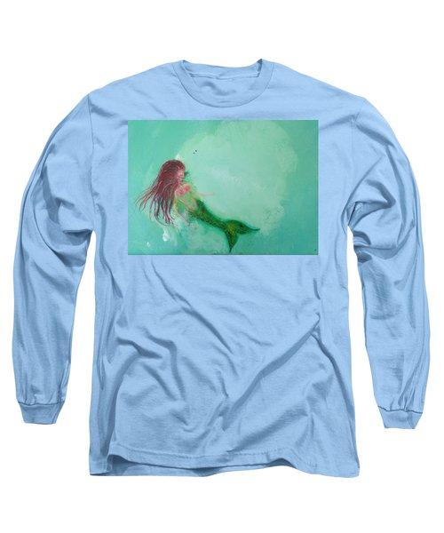 Floaty Mermaid Long Sleeve T-Shirt