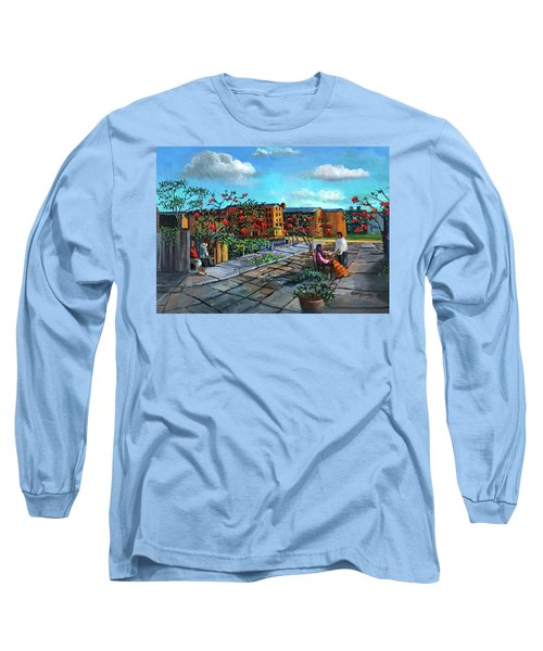 Flor De Noche Buena Long Sleeve T-Shirt