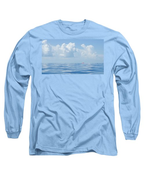 Florida Keys Clouds And Ocean Long Sleeve T-Shirt
