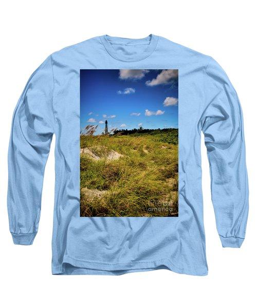 Florida Lighthouse  Long Sleeve T-Shirt by Kelly Wade