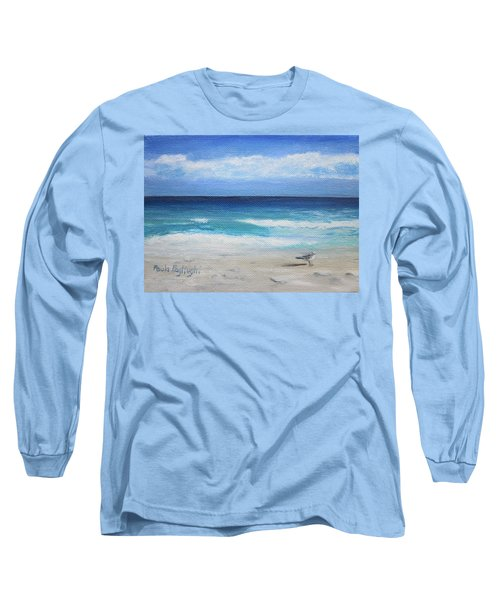 Florida Seagull Long Sleeve T-Shirt