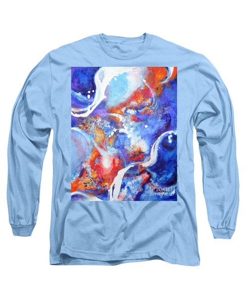 Flow Long Sleeve T-Shirt by Betty M M Wong