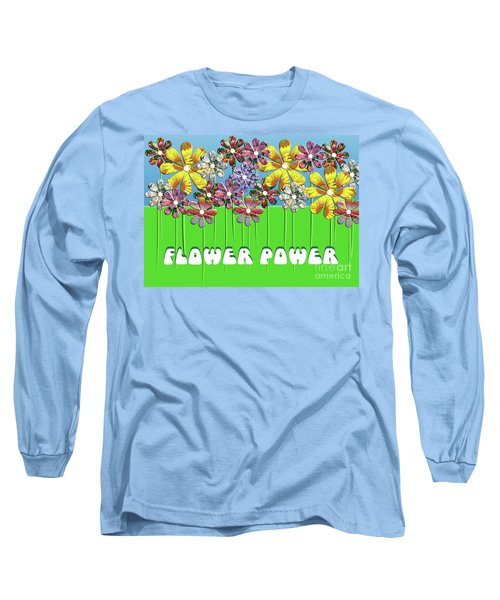 Flower Power Long Sleeve T-Shirt