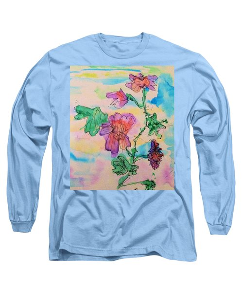 Flowers Are Blooming  Long Sleeve T-Shirt