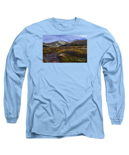 Flowing From Bierstadt Long Sleeve T-Shirt