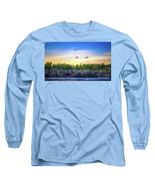 Fly Away Long Sleeve T-Shirt by Maddalena McDonald