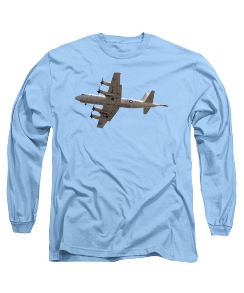 Fly Navy T-shirt Long Sleeve T-Shirt by Bob Slitzan