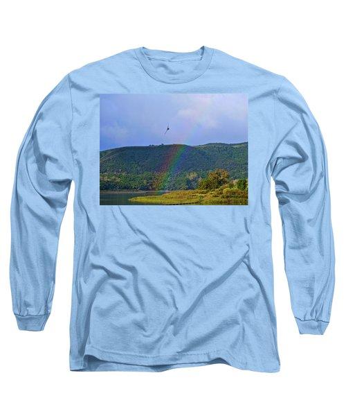Fly Over The Rainbow Long Sleeve T-Shirt