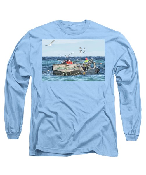 Long Sleeve T-Shirt featuring the photograph Flying Fish by Randy Hall