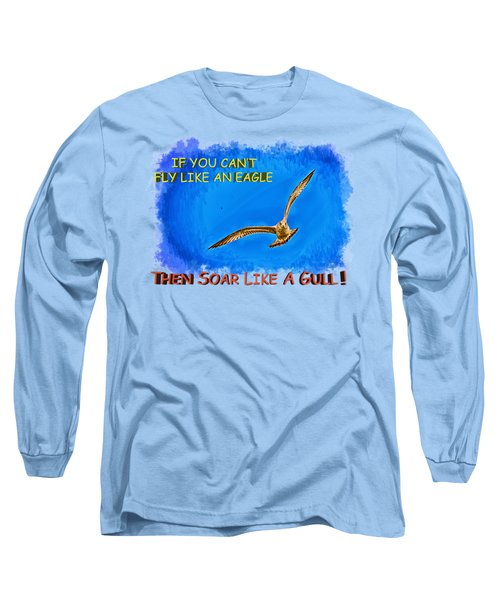 Flying Gull Long Sleeve T-Shirt