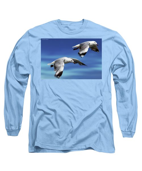 Flying High 0064 Long Sleeve T-Shirt by Kevin Chippindall