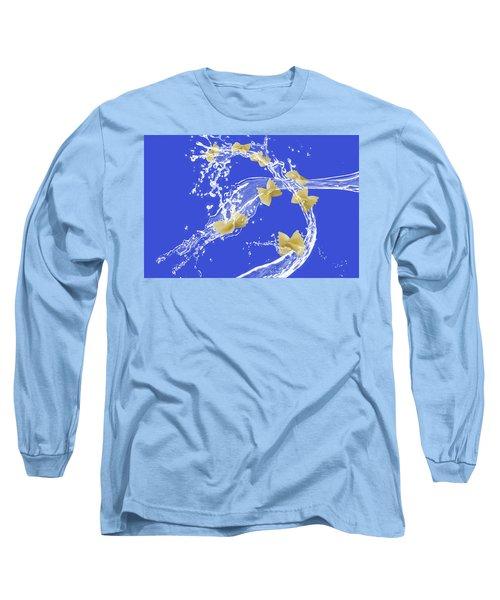 Flying Pasta Long Sleeve T-Shirt