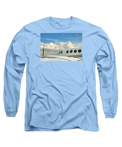 Long Sleeve T-Shirt featuring the photograph Flying Time by Carolyn Marshall