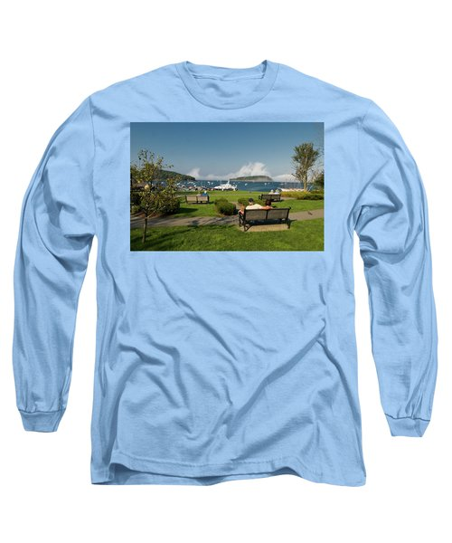 Fog Show Over The Porcupine Islands Long Sleeve T-Shirt