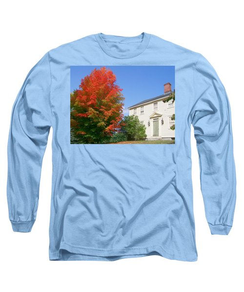 Long Sleeve T-Shirt featuring the digital art Foliage Peak by Barbara S Nickerson